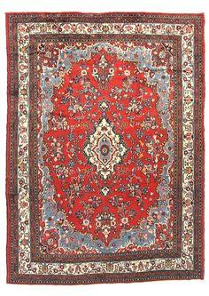 TRADITIONAL PERSIAN HAMADAN RUG 263 cm x 360 cm