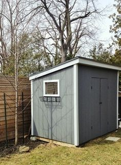 backyard shed structure