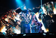 Batman Live   Year: 2011 <br/>Designer: Es Devlin <br/>Venue: World Wide Arena Tour