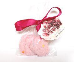 Sweet Passion Heart Bath Bombs