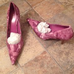 Nine West heels Never worn nine west hells light pink purplish color (from my personal closet) Nine West Shoes Heels