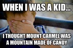 Hehe, I'm glad I'm not the only one! That's why I pronounce the second a in caramel now.