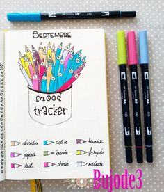 If you're looking for mood tracker ideas for your bullet journal, then you've come to the right place. Here are 36 monthly bullet journal mood tracker ideas you have to try! Bullet Journal Tracker, Bullet Journal 2018, Bullet Journal School, Bullet Journal Notebook, Bullet Journal Inspo, My Journal, Journal Pages, Tracker Mood, Bellet Journal