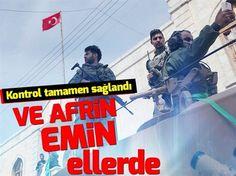 Zeytin Dalı Harekâtı'ndan beklenen haber geldi. Afrin'e giren ÖSO birlikleri ilçe merkezinde kontrolü sağladı.