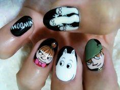 moomins nails
