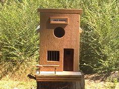 Jail birdhouse