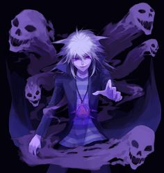 Bakura and the spirits