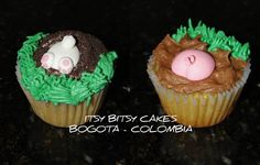 BUNNY AND PIG BUTT  https://www.facebook.com/CUPCAKESBOGOTAITSYBITSYCAKES