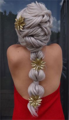 Annoucing the Slay Belles Top 10 Semifinalists - Awards & Contests - Modern Salon Holiday Hairstyles, Wedding Hairstyles, Christmas Competitions, Greek Hair, Goddess Hairstyles, Fantasy Hair, Hair Hacks, Updos, Hair Inspiration