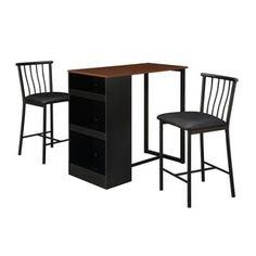 Dorel Living 3-piece Counter Height Bar Set - 18352128 - Overstock - Big Discounts on Pub Sets - Mobile