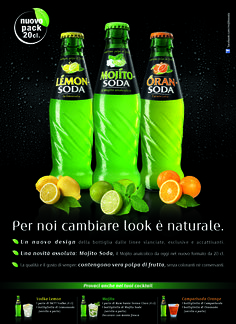 ADV soft drinks Campari