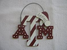 2029 Aggie ornament by theaggieconnection on Etsy, $7.00