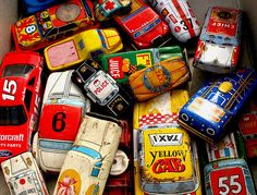 Toy cars. Me and my sister used to draw out our own roads and car parks on the back of old wallpaper rolls and computer paper! We used books too to make jumps and all kinds of ramps and such.