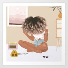 So many changes going on. I hope we are all growing, the way things are going, we are going to need to be stronger and wiser in 2020 and beyond. Well, I had to wait a bit to post again. Black Love Art, Black Girl Art, Art Girl, Black Art Painting, Black Artwork, Black Girl Cartoon, Black Art Pictures, Natural Hair Art, Dibujos Cute