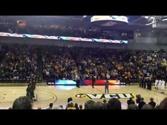 Chris 'Pav' Crowley sings the National Anthem at VCU - He asked the crowed to join him and this is what happened . . . Beautiful!