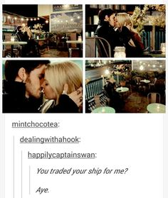 Captain Swan!!!!! FINALLLLLYYYYYYYY IM SO HAPPY!!!!!!!!!!!!!!❤️❤️❤️❤️ I WAS SCREAMING THE WHOLE TIME!!!!!!!!!!!!!!!