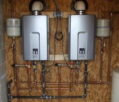 Water heaters come in many shapes and sizes in Vancouver. Our experts can help. #water #heaters #vancouver
