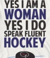 hockey woman