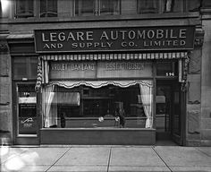 Légaré Automobile & Supply Co. Ste. Catherine St., Montreal, QC, about 1925 by Musée McCord Museum, via Flickr