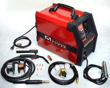 MIG 135 Amp Flux Core Wire Welder 115V Welding Soldering w/Accessories New