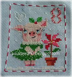 Cross Stitch For Kids, Cross Stitch Cards, Embroidery Patterns, Cross Stitch Patterns, Advent, Needlework, Kids Rugs, Stitching, Christmas