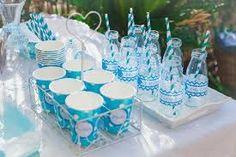 Resultado de imagen para cupcake + primera comunion niños color azul