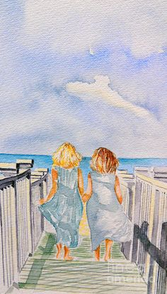 """Sisters"" by Paul Sandilands from fineartamerica.com"