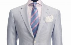 seersucker suit for the Derby. van liew Guillory, Dad needs this outfit! Kentucky Derby Mens Fashion, Derby Day, Derby Time, Derby Outfits, What A Girl Wants, Boys Wear, Seersucker, Gq, Suit Jacket