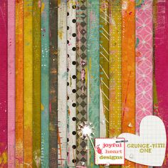 Grunge-fitti {one} :: Papers :: Memory Scraps