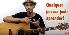 APRENDA DO ZERO A TOCAR VIOLÃO ! Click e saiba mais ! #violão