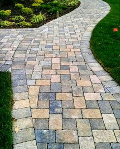 Paver Walkway, Walkways, Small Patio, Stepping Stones, Patio Ideas, Garden  Ideas, Landscape Design, Curb Appeal, Front Porch