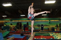 Balance, agility and pure athleticism, Duncan's Micaylla Broadway is the complete package and doing very well in gymnastics by bursting onto the national scene. [Cowichan News Leader Pictorial]