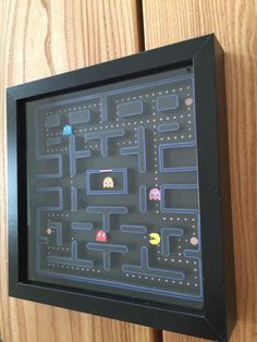 PacMan 3D Paper Diorama