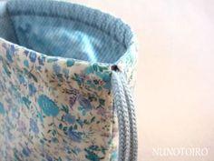巾着袋の作り方 | NUNOTOIRO