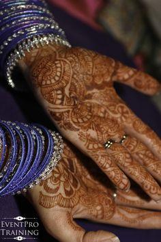 Indian / African Wedding - Henna tattoo