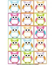 owl labels