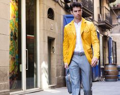 Fay City Diaries: an endless adventure in Barcelona. Men's Spring - Summer 2014 Field Jacket.