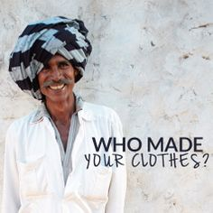 Who made your clothes? #fashiontakesaction Create your own Pinterest board for a chance to win a Fair Trade wardrobe!