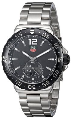 Tag Heuer Stainless Steel Formula 1 with Black Dial- Click the Pic for more details