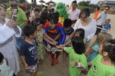 Superman releases turtle after plastic ingestion. | Conservation | The Earth Times