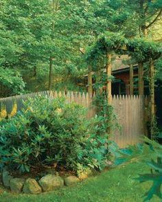 Build a Sturdy Arbor   Fine Gardening