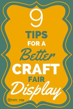 When you set up a craft show display over and over again, it can be hard to see it in an objective way. You may be so used to seeing the same things, so you don't really give any thought about how it could look better. Good news – it can always look better. Here …