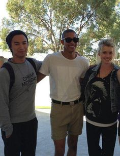 Jordan Rodrigues (Christian Reed), Keiynan Lonsdale (Ollie Lloyd), and Issi Durant (Grace Whitney)- Dance Academy Jordan Rodrigues, Air Max Thea, Air Max 1, Nike Air Max, Christian Reed, Nike Inspiration, Dance Academy, Melissa Shoes, Nike Shoes Cheap