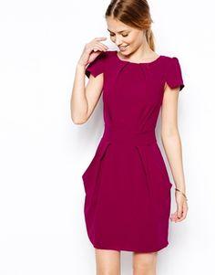 Bild 1 von Closet – Kleid mit Taschen und geschnürter Rückseite