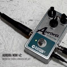 Finally it's back! The Aurora mini is back and updated!  Check out the video and info at the website www.fuzzboxes.co.uk  #delay #lofi #aurora #auroramini