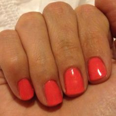CND Shellac in Tropix - -I am thinking this for my appointment at the end of the week!