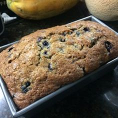 Blueberries and zucchini baked up into delicious little summertime bread loaves! Blueberry Zucchini Muffins, Blueberry Bread Recipe, Blueberry Recipes, Blueberry Cake, Easy Zucchini Recipes, Quick Bread Recipes, Baking Recipes, Easy Recipes, Easy Meals