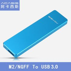 Acasis FA-2423 M2 / NGFF to USB3.0 M.2 Hard Disk Drive Box SSD Enclosure Case Aluminum 1153E Chip Support 2242/2260/2280 USB 3.0