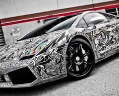 25 Crazy Art Cars - From Tattooed Supercars to Priceless Paint Jobs (CLUSTER)