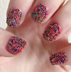30 Delightfully Cool And Unique Caviar Nail Art design Ideas Cute Nails, Pretty Nails, Fresco, Caviar Manicure, New Nail Trends, Nailed It, Nails For Kids, Kid Nails, Finger
